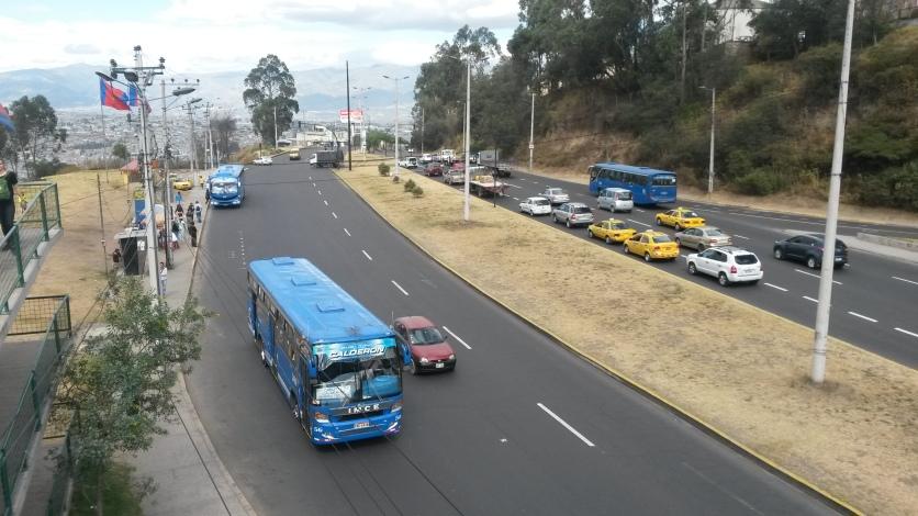 Traffic in Ecuador