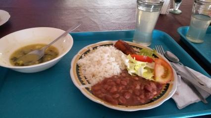 Lunch in Ecuador